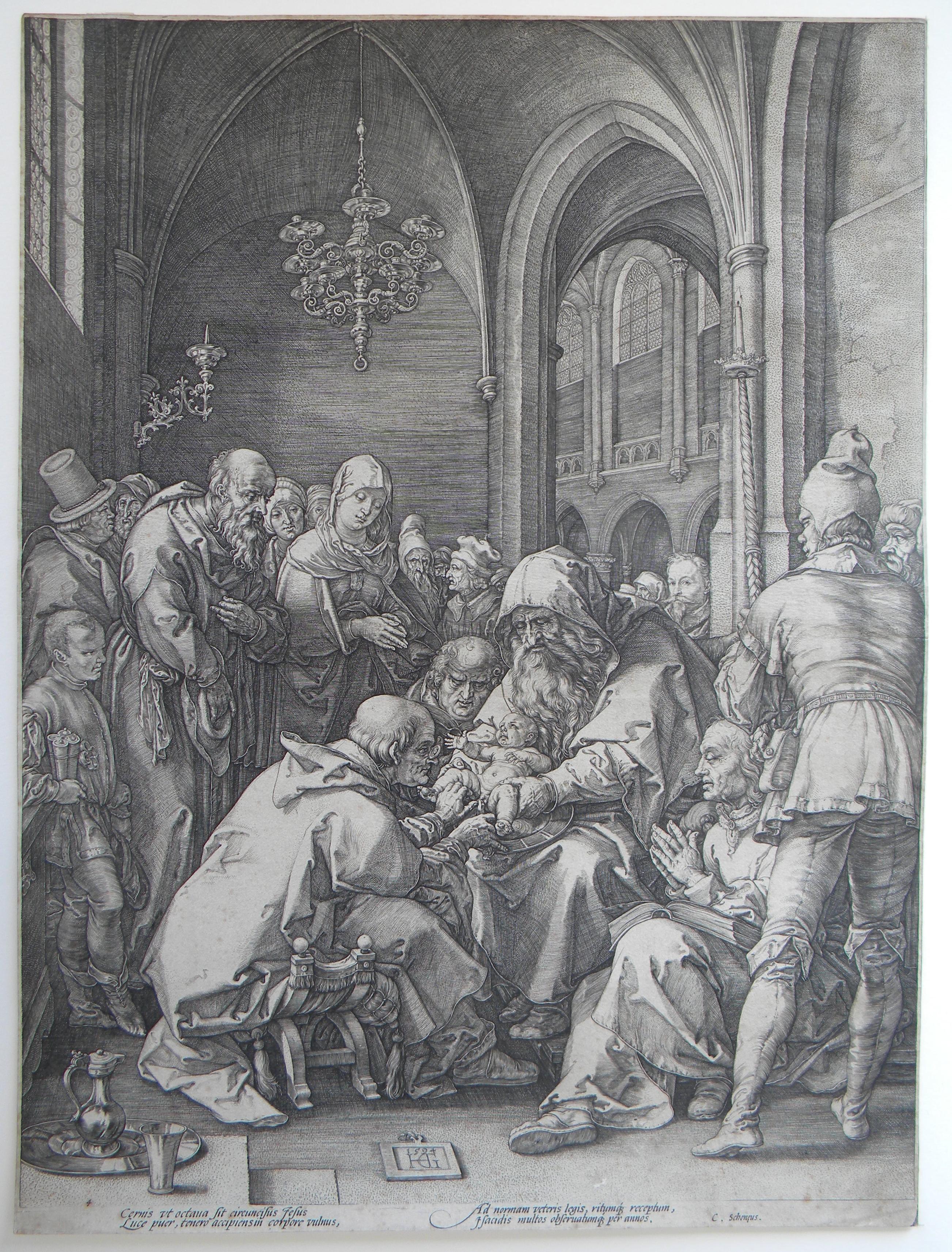 Goltzius Archives Hendrik Goltzius La Circoncision